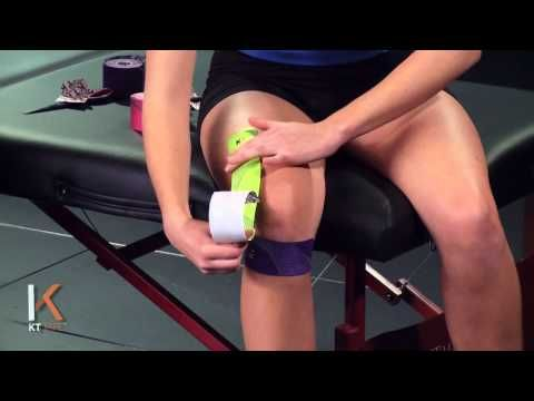 KT TAPE - Apoyo total a la rodilla - YouTube