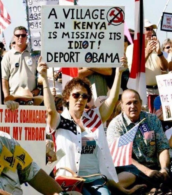 In case people forgot how peacefully people accepted Obama's election in '08: