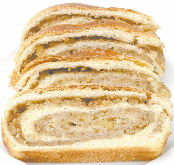 Nut rolls start with a sweet yeast bread dough from an old Slovak cookbook.