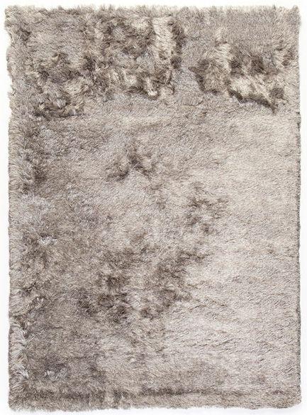 hoogpolig tapijt vloerkleed licht grijs trinity creations