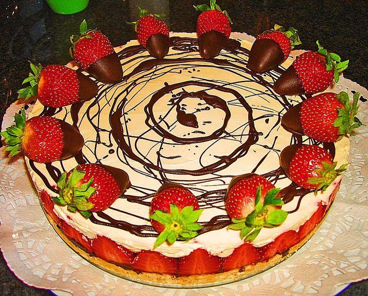 Erdbeer - Mascarpone - Torte (Rezept mit Bild) von MaikäferSilke | Chefkoch.de