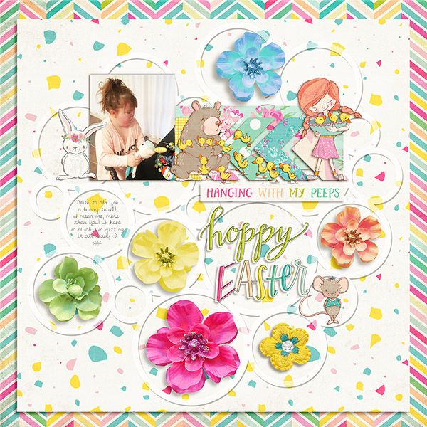 Michelle Collins - Spring Dream from hellodreamer Crystal Livesay - Angled template