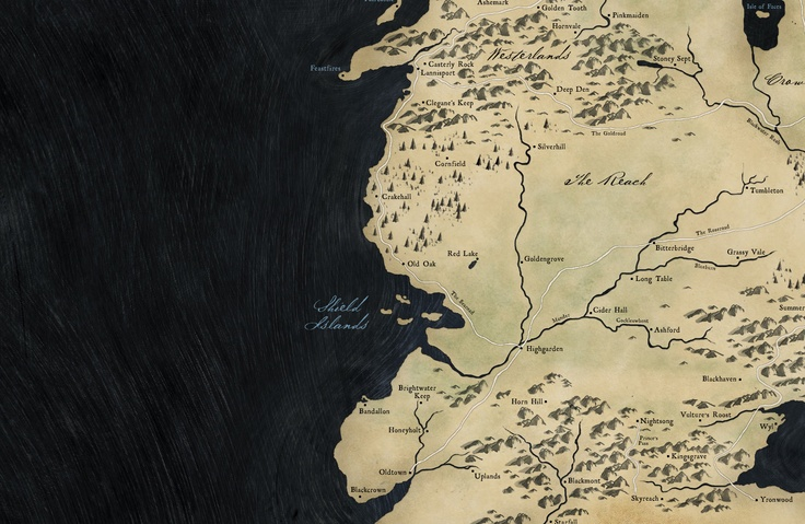 Full map of Westeros