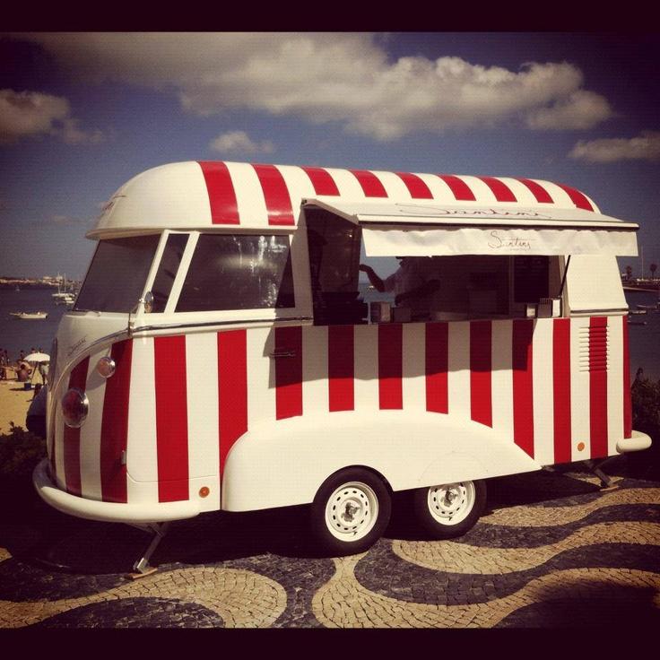 Portugal. Ice cream van.