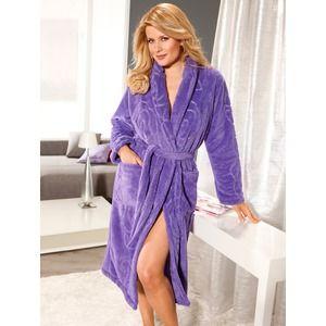 Prachtige, zachte dames badjas waar je heerlijk de ochtenden in kunt doorbrengen. Kijk voor de hele collectie op http://www.badjasbaas.nl/badjassen-dames