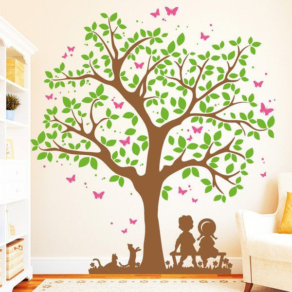 die besten 25 wandtattoo baum kinderzimmer ideen auf. Black Bedroom Furniture Sets. Home Design Ideas