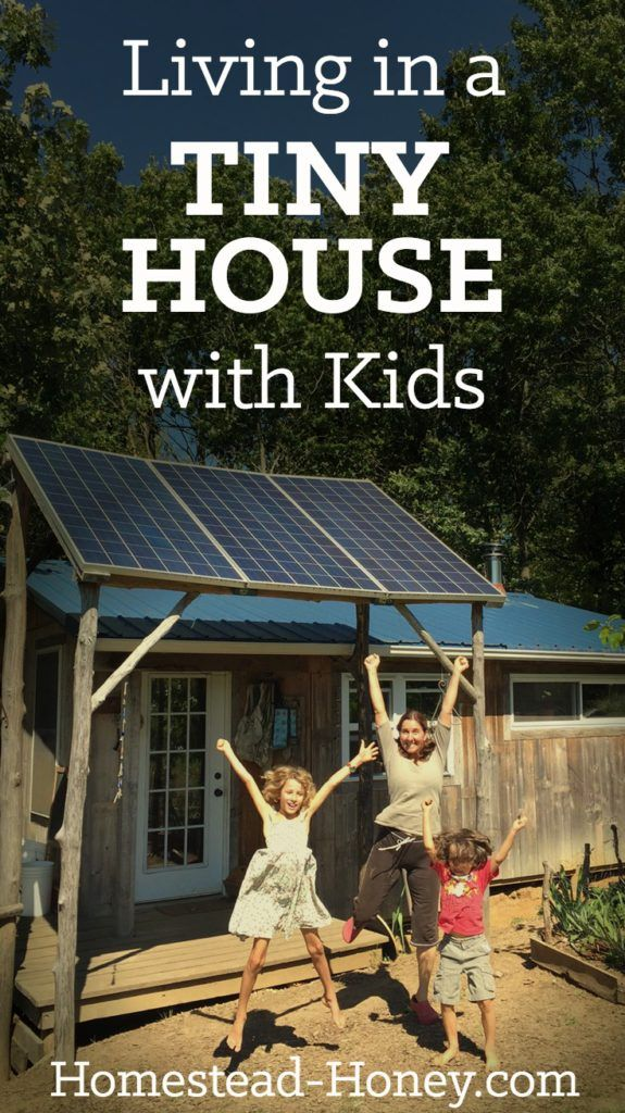 Wonder what living in a tiny house with kids is really like? We live in a 350 square foot home with two children - here's how we make tiny house life work.