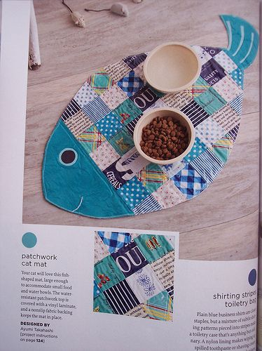 Great fish placemat - maybe try a dachshund for @Andrea Potgieter ... :)