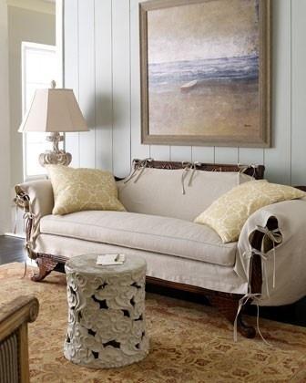Love The Slip Cover On The Duncan Phyffe Sofa