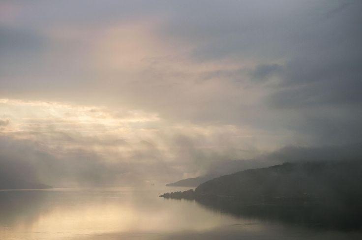 Sunset on Hardangerfjorden by Lidia, Leszek Derda on 500px
