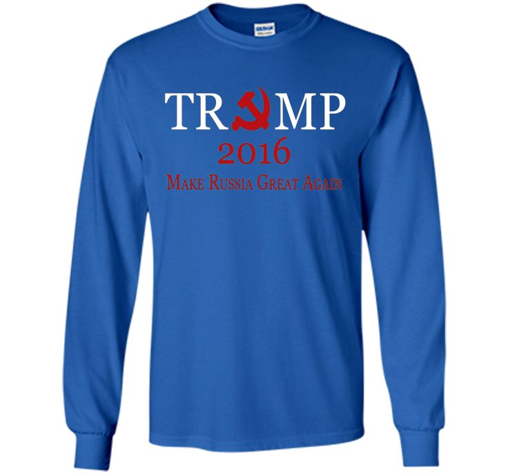 Donald Trump 2016 Make Russia Great Again T-Shirt
