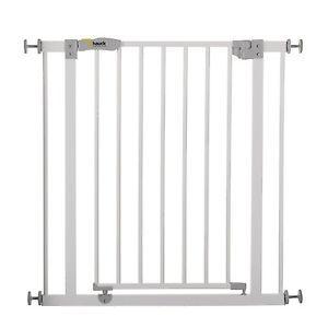 Hauck-Open-039-n-Stop-Barriere-d-039-Escalier-Blanc-Systeme-de-Securite-pour-Enfants
