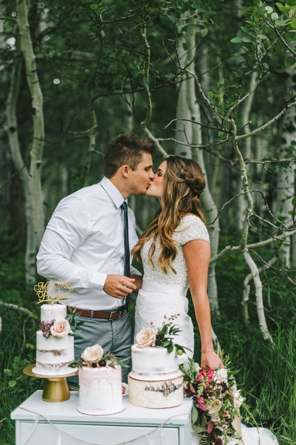 A magical kiss in a romantic forest | Nhiya Kaye Photography