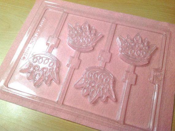 Princess/Prince Crown Chocolate Lollipop Mold By DIYLollipopSupply