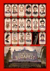 El gran hotel Budapest - Nominada a los Premios Oscar 2015.