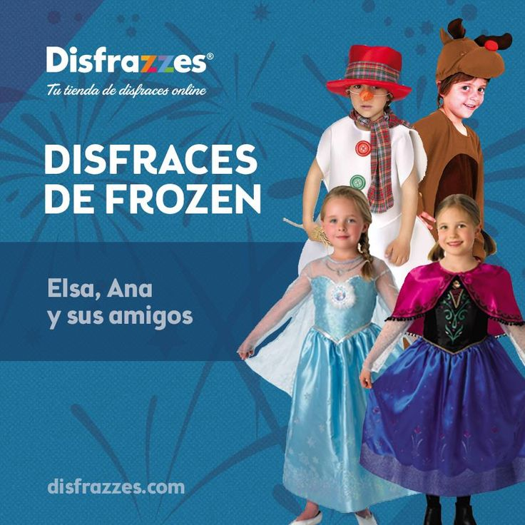 ¿Os gusta #Frozen? ¡Pues se acaba de confirmar la segunda parte! #frozen2 #disney #elsa #anna #disfraz #disfraces #disfrazzes #costume #costumes