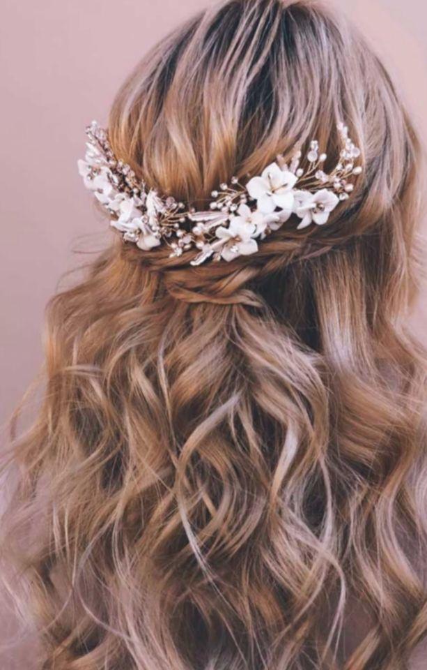 13+ Hairstyles For Medium Length Hair Half Up Braided ...