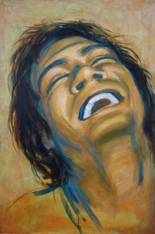 """Lidia Zdzieszyńska, """"Emotions"""", oil on canvas, 120/80cm, 2016"""
