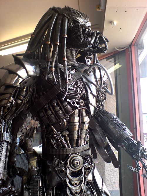 Even if you hate steampunk, you've got to respect the Predator. The only way to stop him is pulling a gasket. Or waiting for him to rust. Or run out of steam.