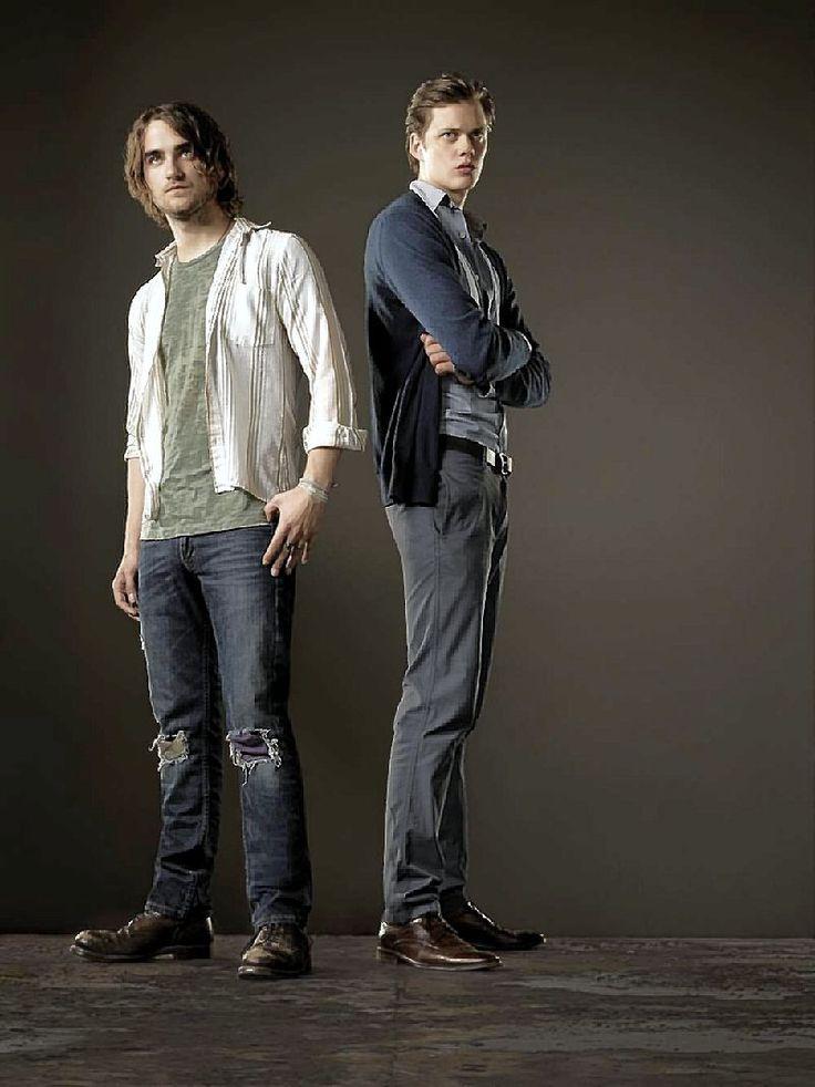 Hemlock Grove. Peter Rumancek & Roman Godfrey. Roman is just so awkward... in a good way though
