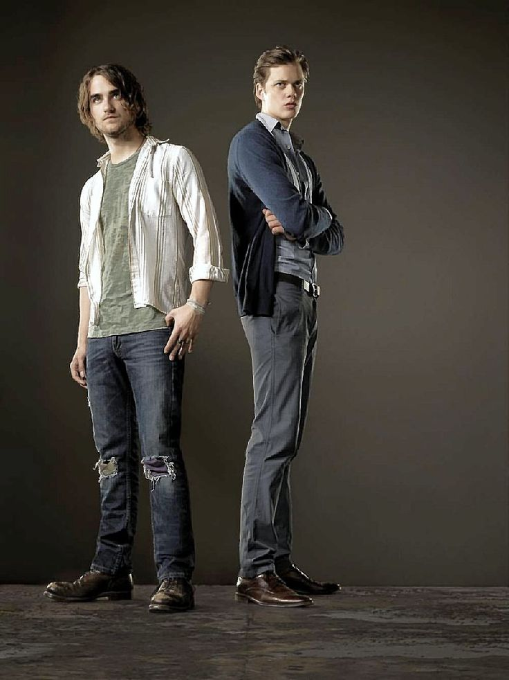 Hemlock Grove. Peter Rumancek & Roman Godfrey. Roman is just so awkward... in a good way though