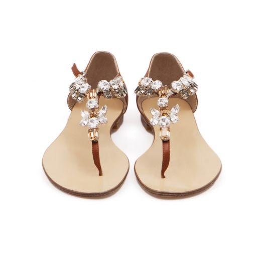 Light Brown Milano Sandal