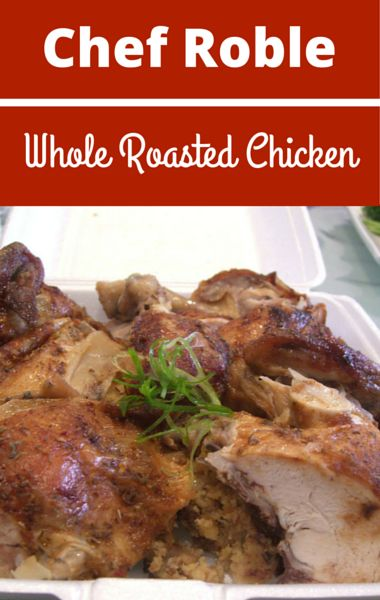 "Chef Roble Ali, chef to the stars, shared his recipe for Whole Roasted Chicken that was so good, it even appeared on an episode of ""Empire."""
