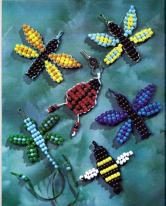PEARLS - BEADS / PERLES / PARELS - Beadie Babies Suzanne McNeill Design Originals Beading Book 3271