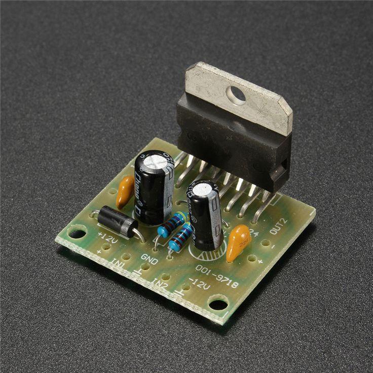 DC 12V 2x15W TDA7297 Amplifier Board Grade 2.0 Dual Audio Encoding DIY Electronic Kit