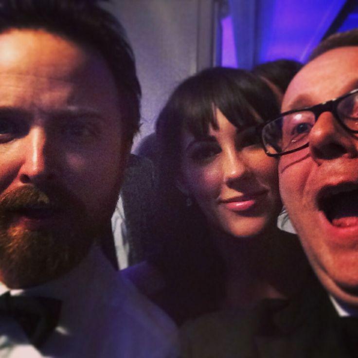 #BreakingBad star Aaron Paul and I at the BAFTA TV Awards