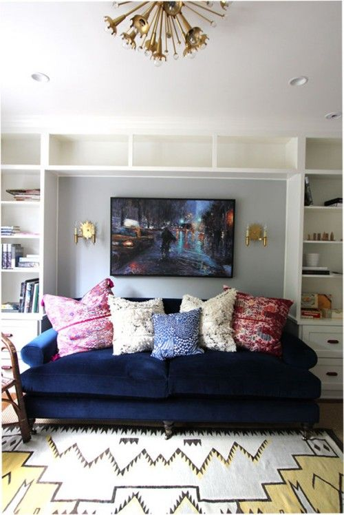 Willoughby Sofa Anthropologie Image Via Design Sponge In The Living Roo