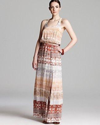 Aqua Dress -