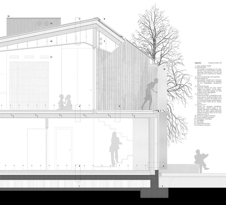 OPERASTUDIO - Project - Social housing in Switzerland - detail