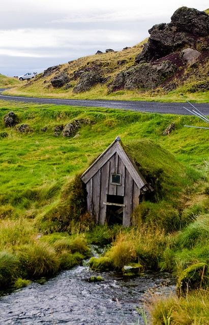 Old mill house, Keldur, Iceland By palli gestur
