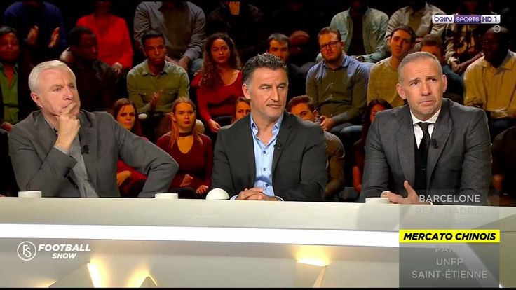"""[#FootballShow] Christophe Galtier : """"Aubameyang a eu une approche de 41M d'euros par an (150M pour Dortmund) en Chine"""""""