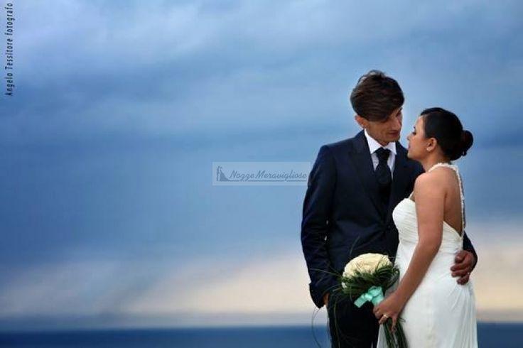 Gli sposi ed il loro sguardo eterno..  http://www.nozzemeravigliose.it/matrimonio/fotografo/caserta/tessitore-angelo-fotografo/362