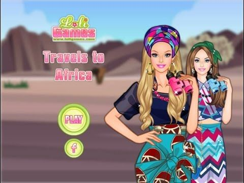 Barbie Travels To Africa - Game Tutorial 2016