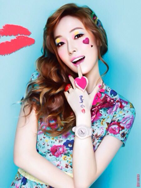 SNSD Jessica In Cutesy Spring Style
