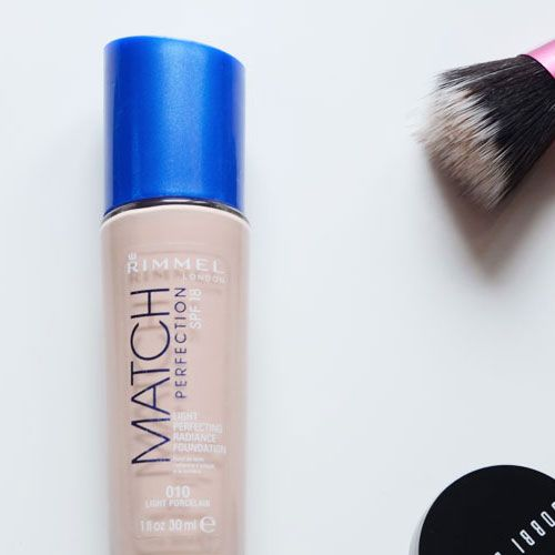 Rimmel Match Perfection: good drugstore foundation for pale skin