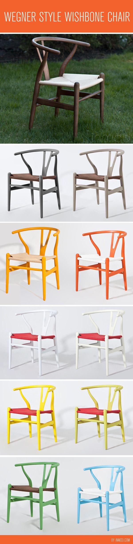 Wegner Style Wishbone Chair <3