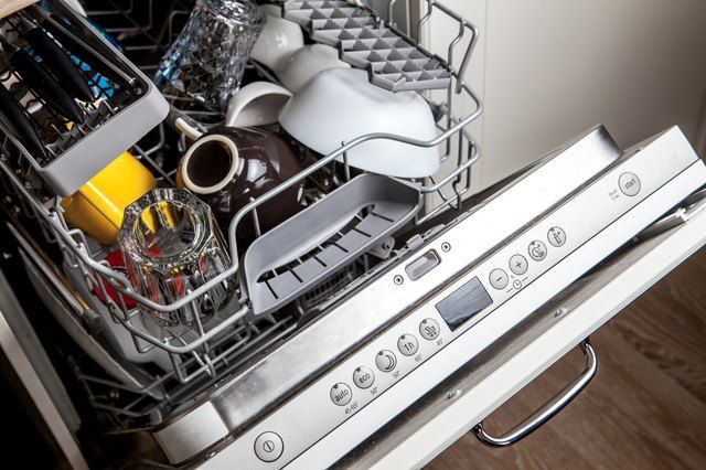 How To Clean A Bosch Dishwasher That Is Leaving Detergent Residue On Glasses Hunker Vinegar Cleaning Bosch Dishwashers Samsung Dishwasher