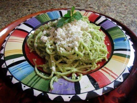Espaguetti Verde/ Green Spaghetti - YouTube