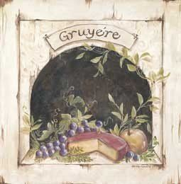 Amazon.com: Art Poster Print - Gruyere - Artist: Kate McRostie- Poster Size: 12…
