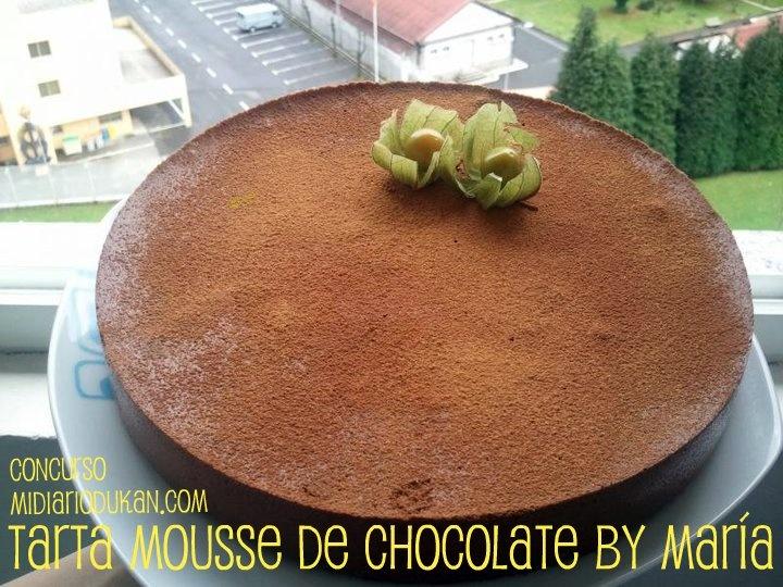 - Tarta Mousse de Chocolate by María - * Repostería Dukan *