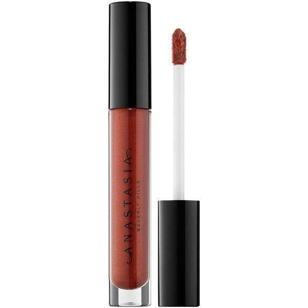 Lip Gloss Anastasia Beverly Hills (51 BRL) ❤ liked on Polyvore featuring beauty products, makeup, lip makeup, lip gloss, anastasia beverly hills, lip gloss makeup, shiny lip gloss and lip shine