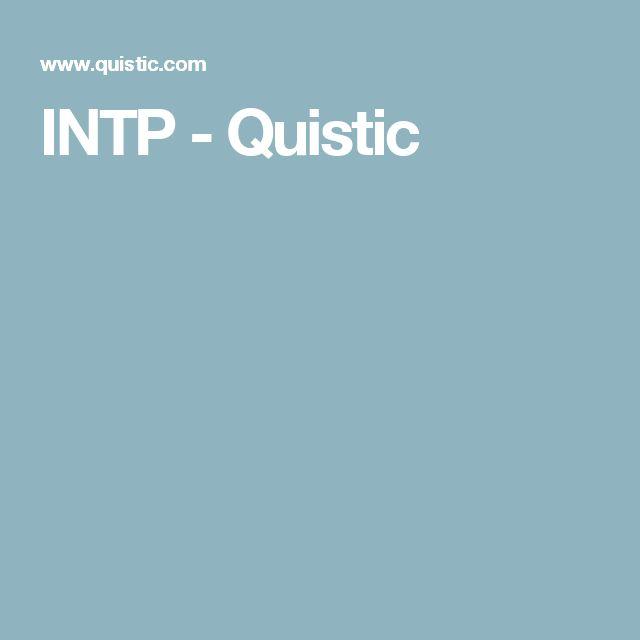 INTP - Quistic