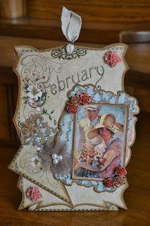 From Carla in Purmerend, Noord-Holland, Netherlands. Hobby Actief : Vintage kaarten/Labels