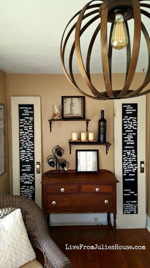 vecchio Upcycle porta, vernice lavagna, fai da te, porte