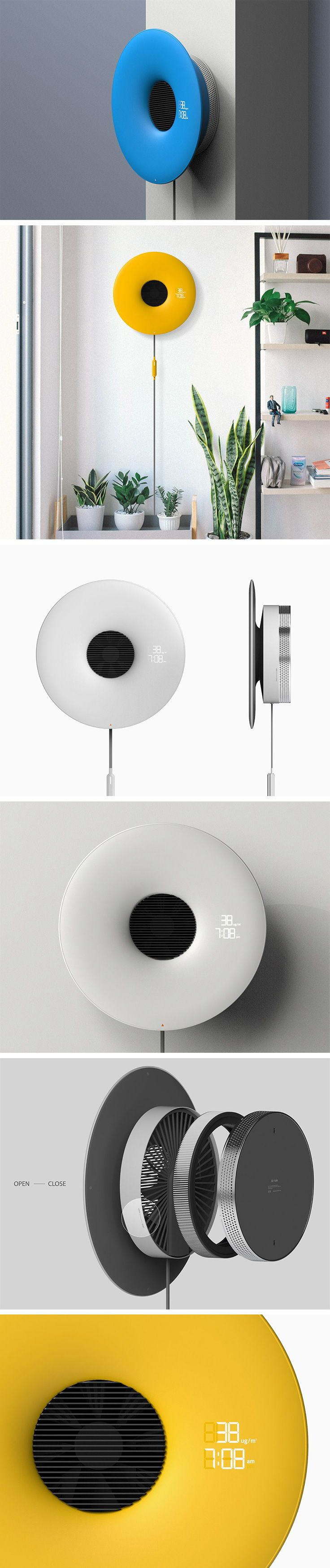 The Air Hole is the wallmounted air purifier that has