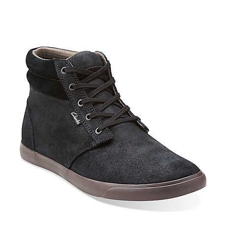 Torbay Mid in Black/Grey - Mens Shoes from Clarks